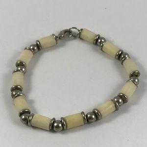 Vintage Puka Shell Bracelet, Pukashell